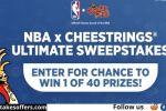 NBA x Cheestrings Ultimate Sweepstakes