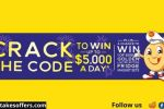 Golden Crack The Code & Win Competition