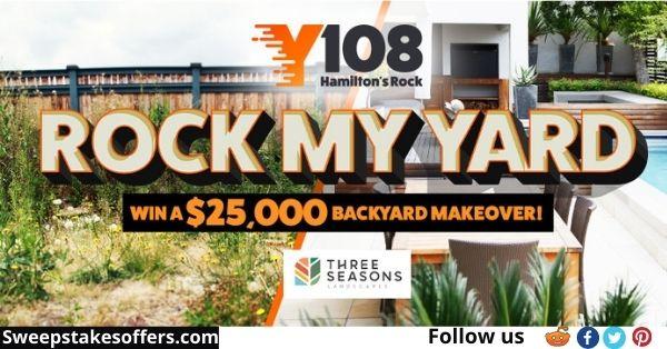 Y108 Rock My Yard Contest