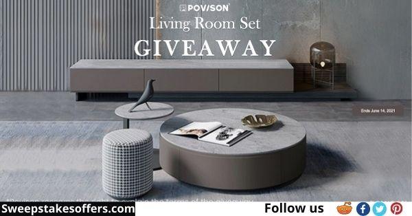 Povison Living Room Set Giveaway