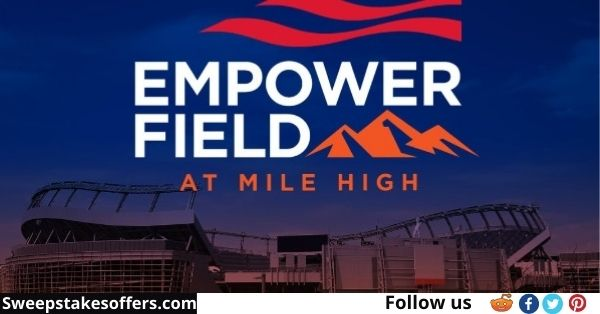 Denver Broncos And Empower Fan Fly In Sweepstakes