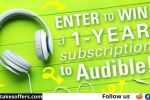 BookRiot Audible Subscription Giveaway