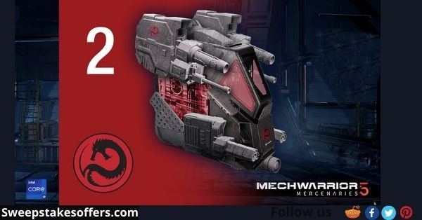 PC Gamer Mech Warrior 5 Giveaway
