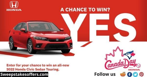 Blue Jays Honda Canada Day Car Giveaway