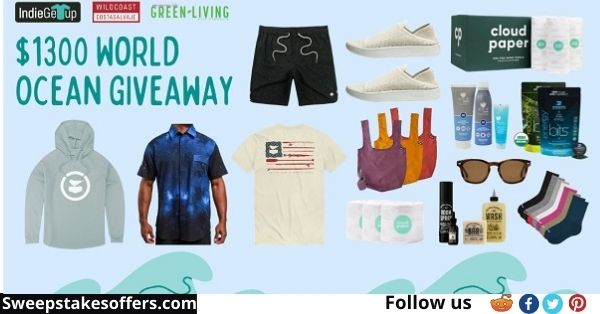 IndieGetup World Oceans Day Giveaway
