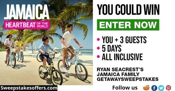Ryan Seacrest's JAMAICA Family Getaway Sweepstakes