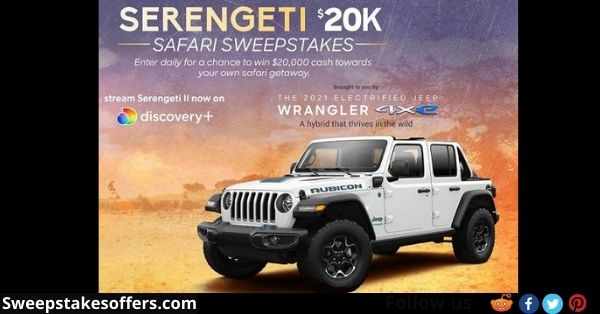 Discovery Channel Serengeti Safari Sweepstakes