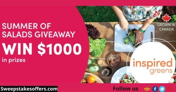 Inspired Greens Summer of Salads Giveaway
