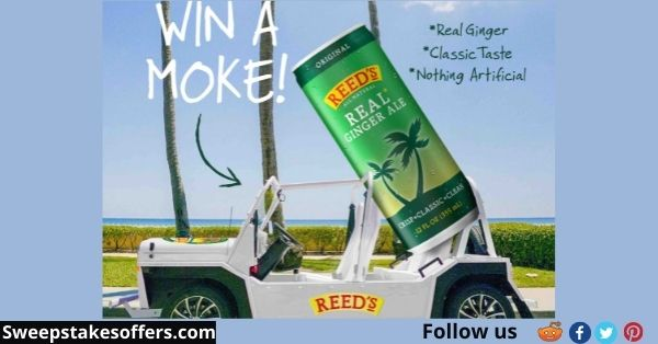 Reed's Real Ginger Ale Moke Giveaway