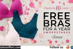 SOMA Free Bras for a Year Sweepstakes