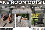 Make Room Outside Belgard Summer Giveaway