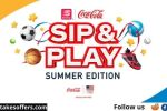 Coca Cola and Speedway Sip & Play Instant Win Game