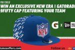 Gatorade NFL Hat Instant Win Game