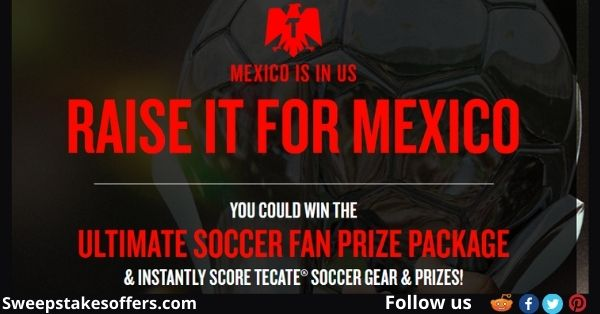 Tecate Futbol Instant Win Game and  Sweepstakes