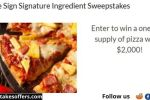 Adobe Sign Signature Ingredient Sweepstakes