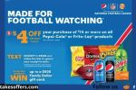 Pepsi and Frito Lay Nfl Football Sweepstakes