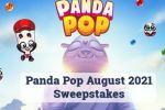Jim City Panda Pop August Sweepstakes