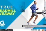 TRUE Fitness Treadmill Giveaway