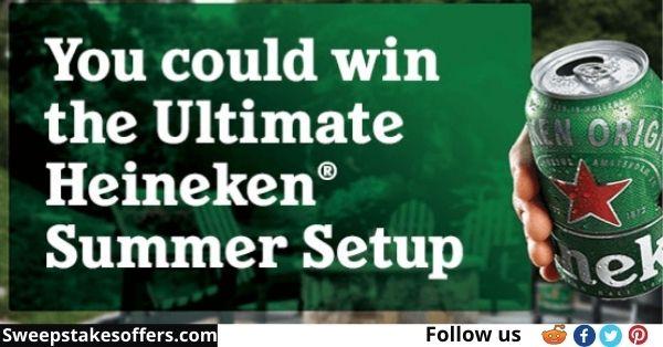 Heineken Summer of Cans Sweepstakes