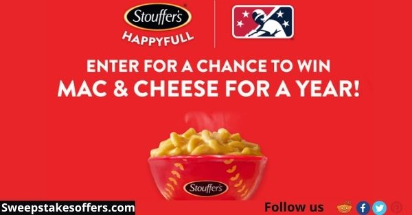 MILB Stouffer's Year of Mac and Cheese Sweepstakes