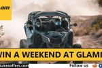 Canam Win A Weekend At Glamis Giveaway