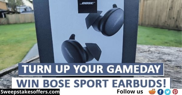 Bose Turn Up With Bose Sweepstakes