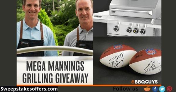 BBQGuys Manning's Mega Grilling Giveaway