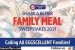 Eggland's Share Better Family Meals Sweepstakes
