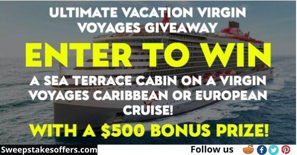 Priceline Cruises Ultimate Vacation Virgin Voyages Giveaway