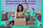 RetailMeNot Deal Finder $5000 Cash Sweepstakes