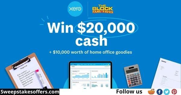 The Block Xero Win $20000 Cash Competition