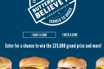 Culver'Pepsi Butterburger Believe Sweepstakes