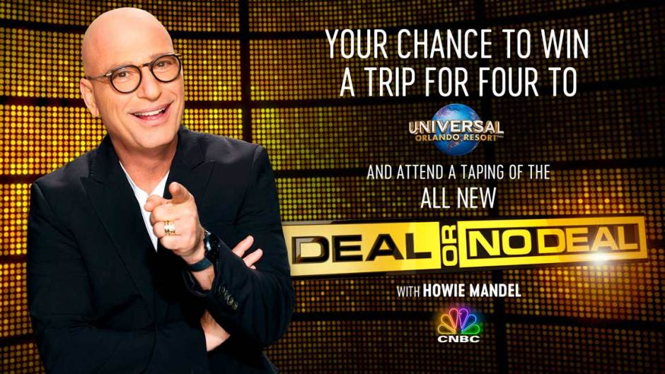 CNBC Deal or No Deal Sweepstakes-Trip To Orlando Resort