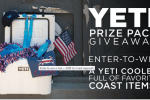 Coast Apparel Beach Ready Giveaway Win A Yeti 35 Cooler