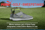 dunhams sports puma golf sweepstakes