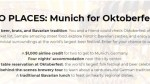 GO PLACES Munich Sweepstakes
