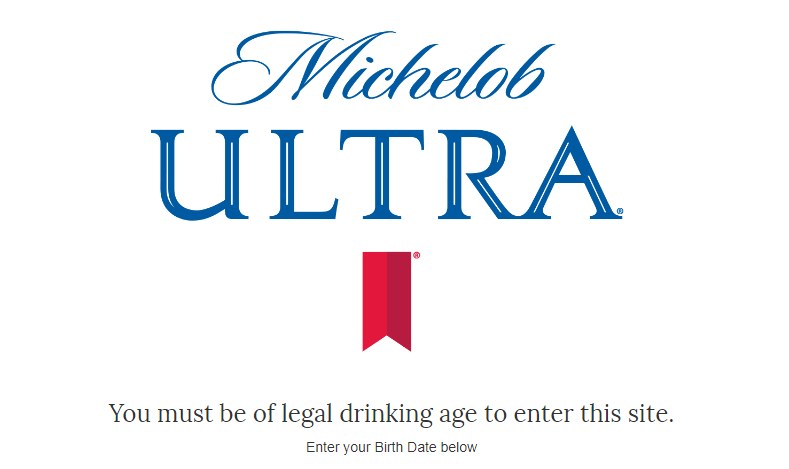 Michelob Ultra - Round of a Lifetime Sweepstakes