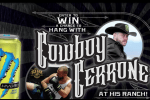 monster cowboy cerrone fitness retreat sweepstakes