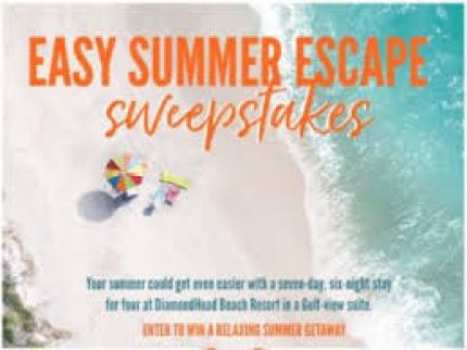 easy summer escape sweepstakes