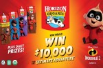 Horizon Organic $10,000 Ultimate Adventure Sweepstakes