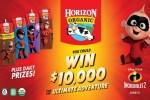 Horizon Organic $10,000 Ultimate Adventure Sweepstakes