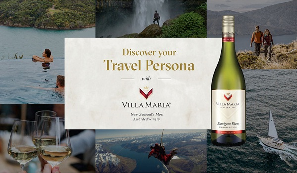 Villa Maria, Win a trip for two to New Zealand Sweepstakes
