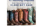 Boot Barn 40th Anniversary Sweepstakes