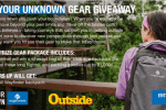 Outside Magazine Find Your Unknown Gear Giveaway