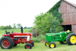 Tractor Zoom Red vs. Green Tractor Giveaway