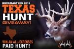Buckmasters.com Texas Hunt Giveaway