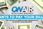 Ryan Seacrest's Pay Your Bills Sweepstakes