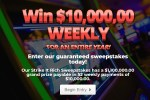 PrizePub Strike It Rich Sweepstakes - Win $1.1 Million