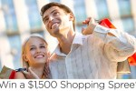 win $1500 shopping spree sweepstakes