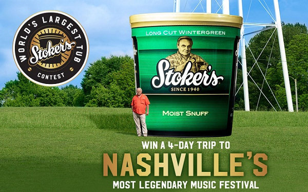 Stokers Worlds Largest Tub Sweepstakes
